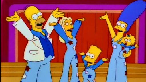 I Simpson cantano