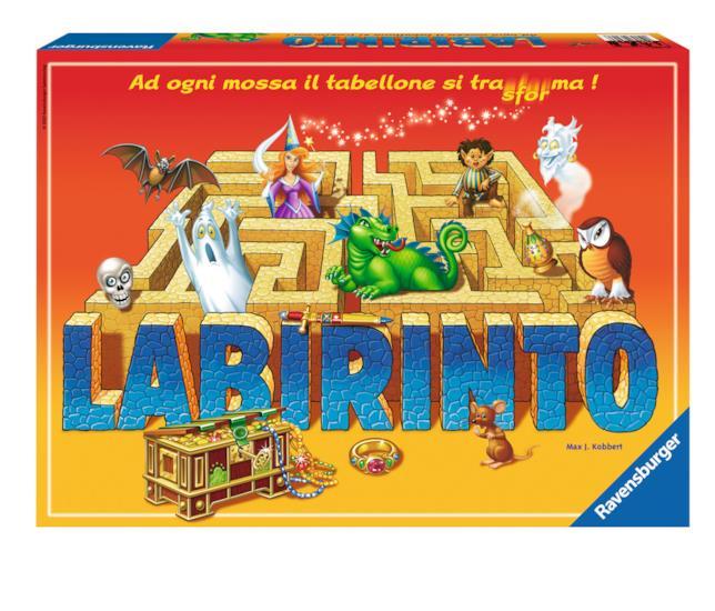 La copertina della confezione base di Labirinto.
