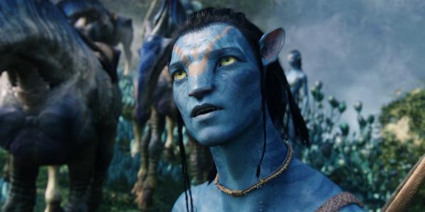 Una scena di Avatar di James Cameron