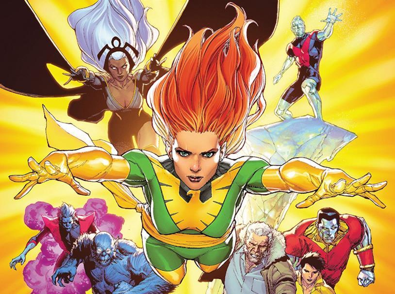 Dettaglio della cover di Phoenix Resurrection: The Return Of Jean Grey #5