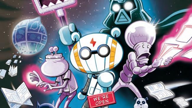 Il protagonista ritratto sulla copertina del primo numero