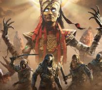 La cover ufficiale de La Maledizione dei Faraoni