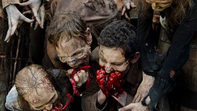 Zombie di The Walking Dead