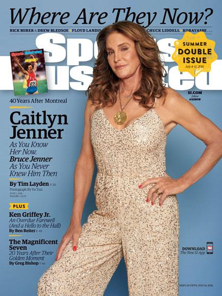 Caitlyn Jenner su Sports Illustrated