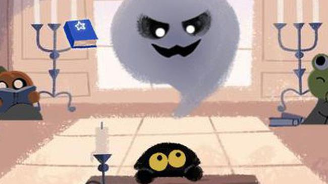 Google Doodle Halloween 2016 Momo
