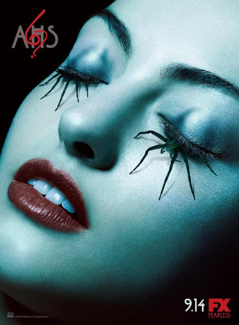 Il poster ufficiale di American Horror Story 6
