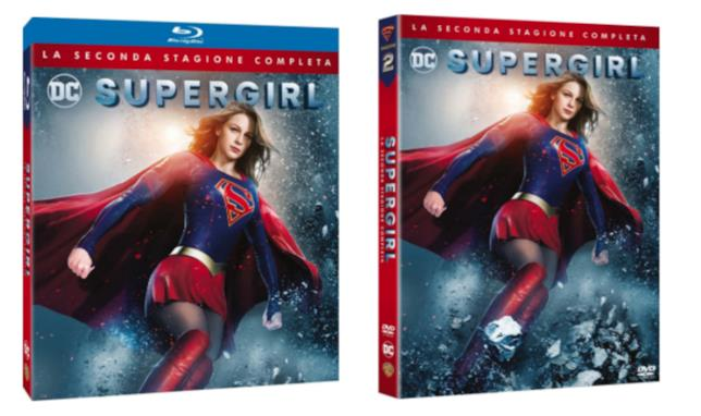 La seconda stagione di Supergirl in Home Video