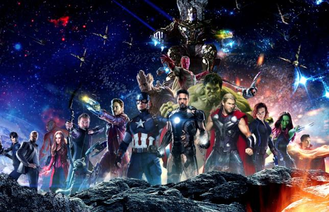 Il poster di Avengers: Infinity War