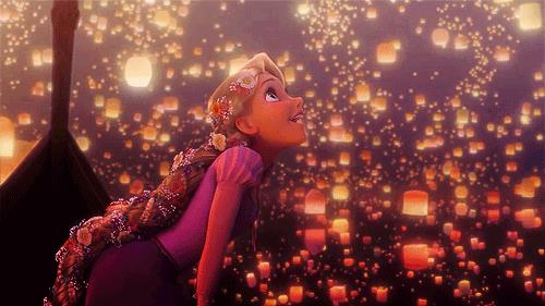 Rapunzel e le lanterne cinesi