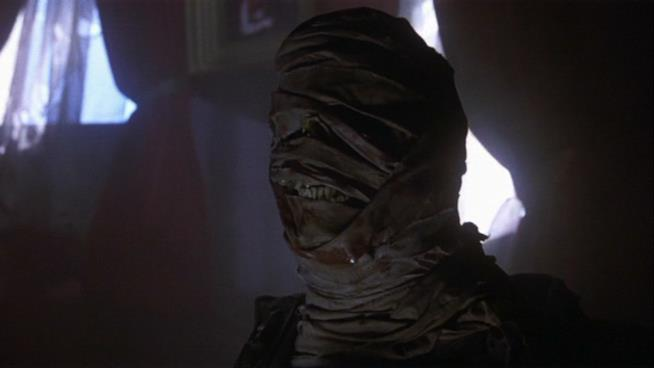 IT, il mostro appare sotto forma della mummia