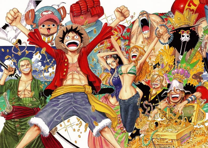 One Piece time skip cover