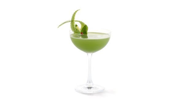 Il cocktail Molinari Basilicum