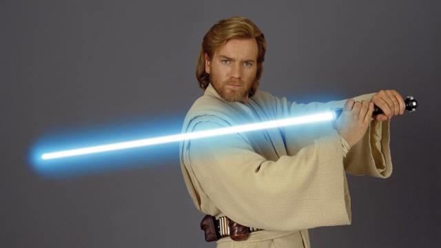Ewan McGregor nei panni di Obi Wan
