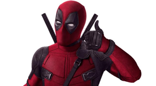L'antieroe Deadpool ha il pollice alzato in segno d'approvazione