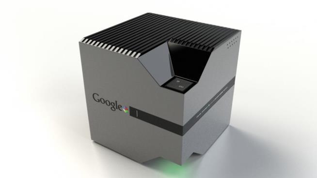 Il render di una possibile console Google