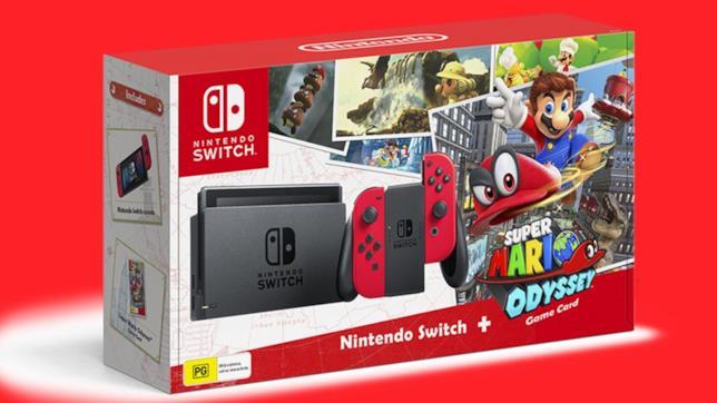 Il bundle di Switch con Super Mario Odyssey