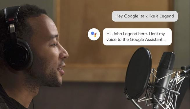John Legend registra in studio alcune frasi per Google Assistant