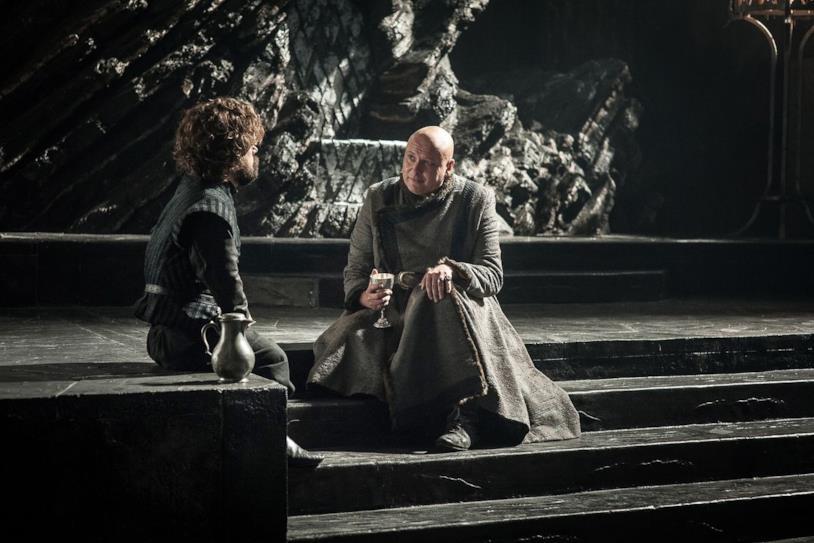 Una scena da Game of Thrones 8x04