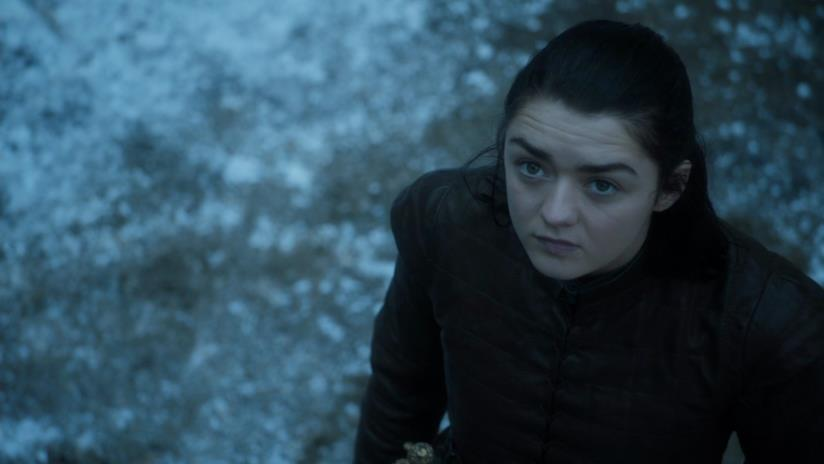 Maisie Williams è Arya Stark in Game of Thrones