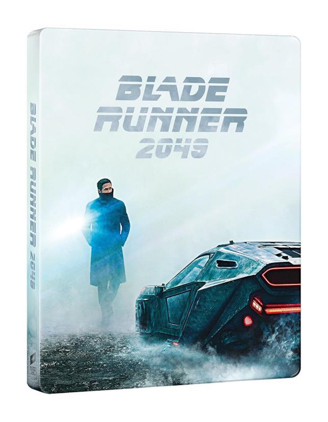 Packshot frontale di Blade Runner 2049 in edizione Steelbook
