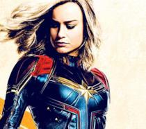 Poster dedicato a Carol Danvers di Captain Marvel