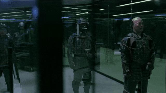 I residenti del Samurai World in laboratorio