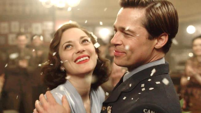 La recensione di Allied con Brad Pitt e Marion Cotillard