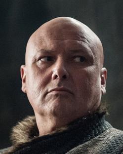 Game of Thrones 7: Varys con un nuovo e inedito abbigliamento invernale