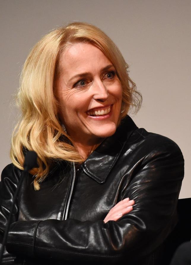 Il volto sorridente di Gillian Anderson
