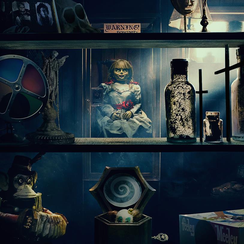 La bambola Annabelle nello scantinato degli Warren