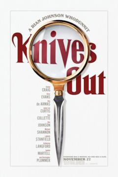 Il teaser poster di Knives Out