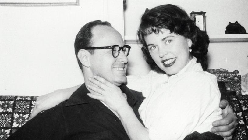Joan e Stan Lee da giovani