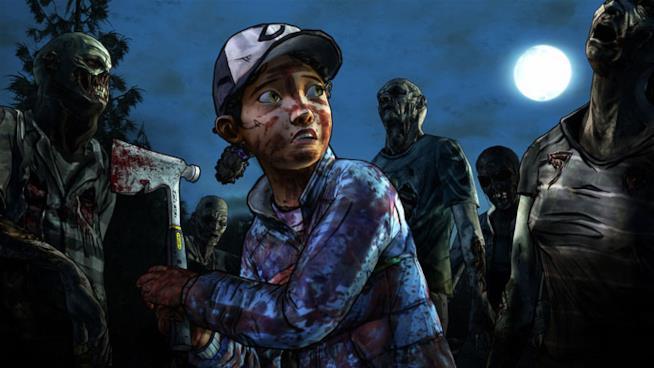 Clementine nel secondo episodio di Telltale's The Walking Dead