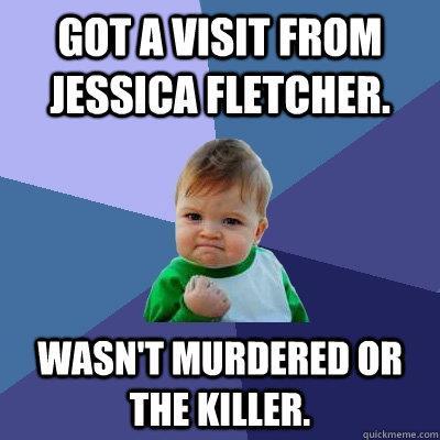 Il celebre bambino di internet prende in giro la Fletcher