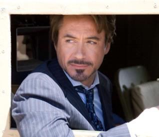 Robert Downey Jr. nei panni di Tony Stark in Iron Man