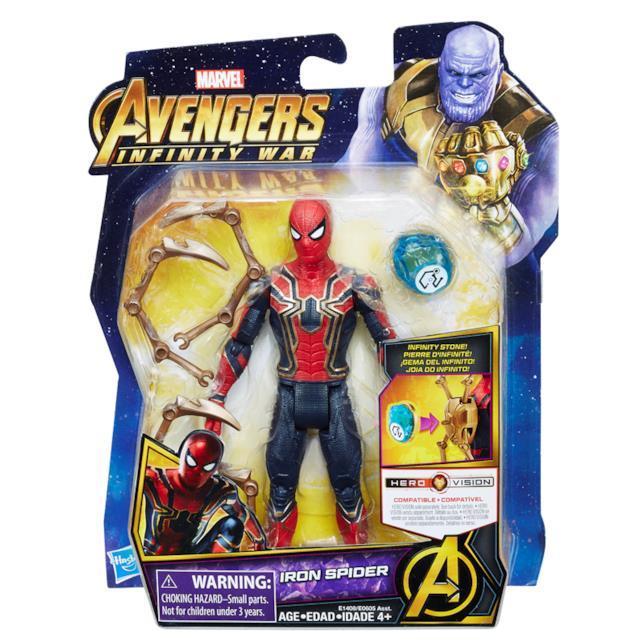 Ancora zampe su questa versione della Iron Spider realizzata da Hasbro