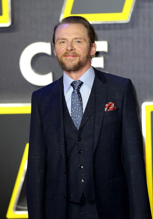 Simon Pegg potrebbe interpretare Og in Ready Player One