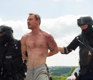 Michael Fassbender in una scena di Codice Criminale