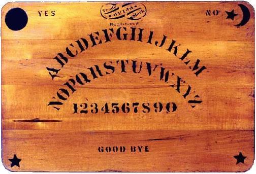 La prima versione della tavola Ouija, creata nel 1890
