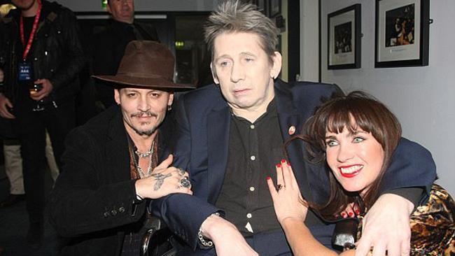 Shane MacGowan e Johnny Depp