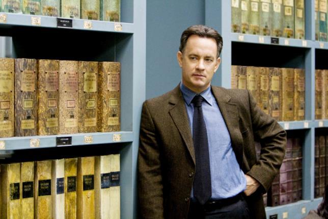 Robert Langdon interpretato da Tom Hanks