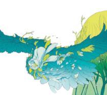l'illustrazione di LRNZ per la trilogia dell'Area X