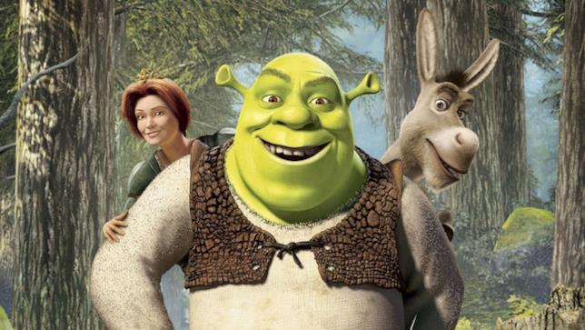 I personaggi principali del film Shrek