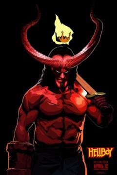 Hellboy in versione fumettosa