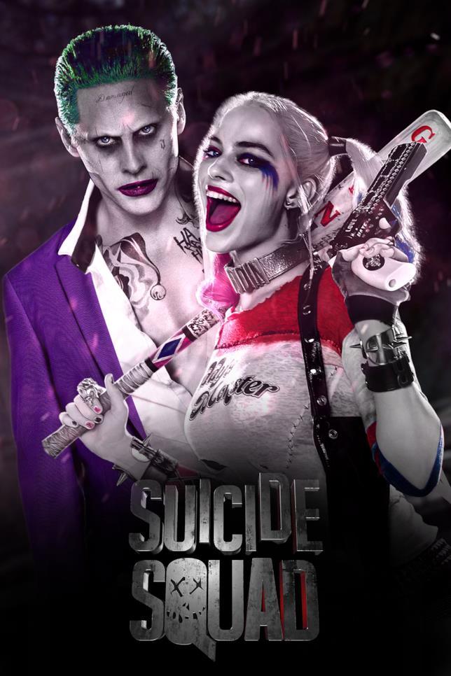 Harley Quinn e Joker di Suicide Squad