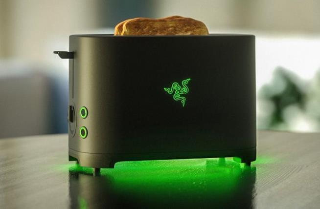 Foto del concept del tostapane Razer