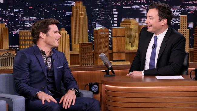 James Marsden ospite da Jimmy Fallon