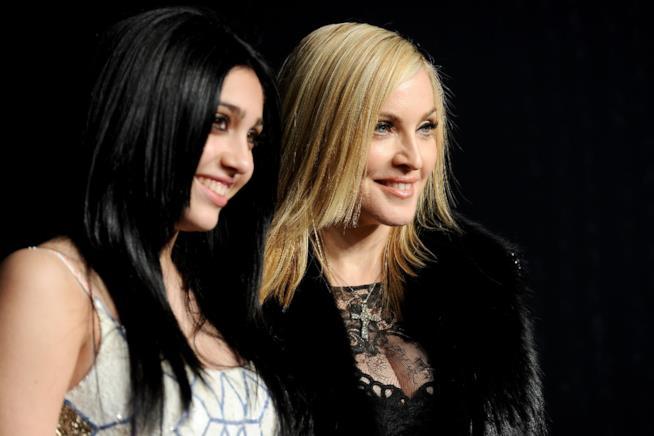 Primo piano di Madonna e la figlia Lourdes