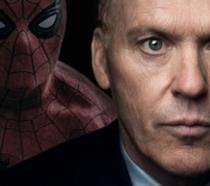 In foto Michael Keaton e Spider-Man