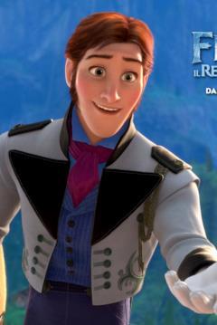 Hans nel character banner di Frozen